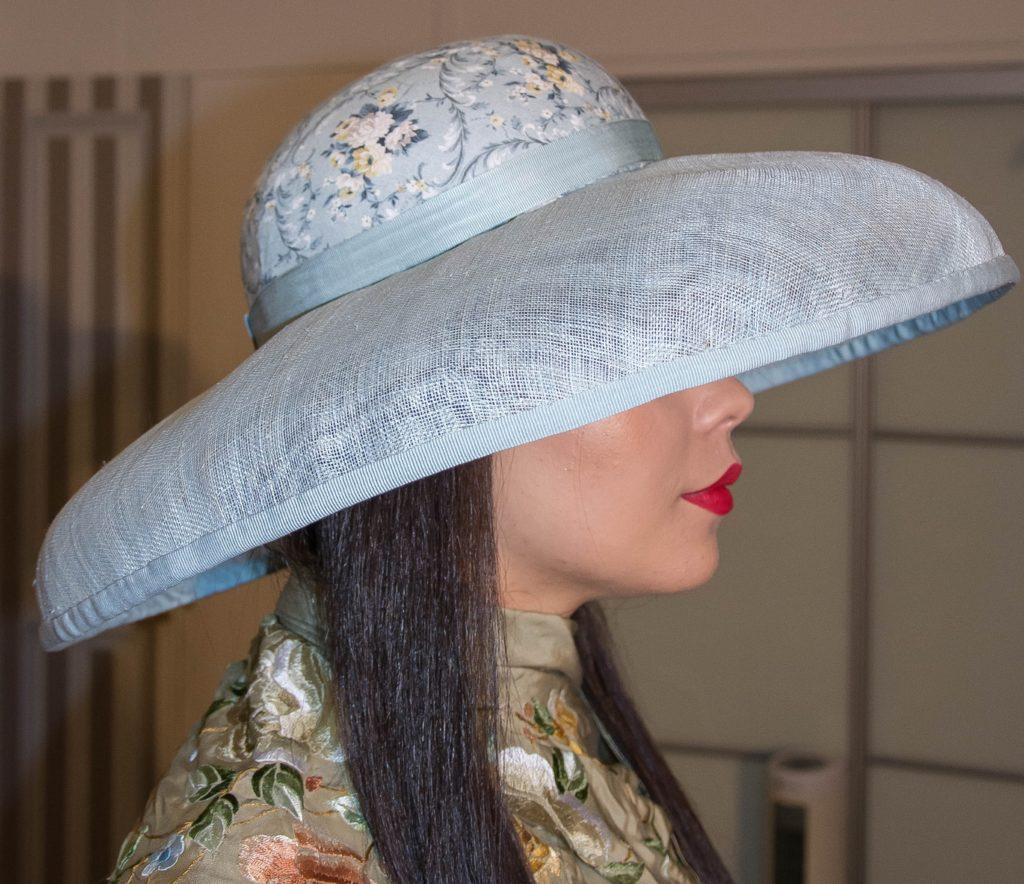 chapeaux sur mesure par l'atelier de Panchy modiste modèle 15